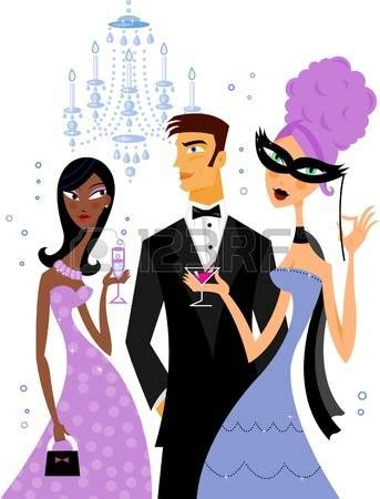 Formal party clipart - Clipground