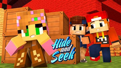 BABY MICHELLE! | Minecraft Hide and Seek - YouTube