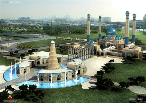Grand Mosque - Dushanbe