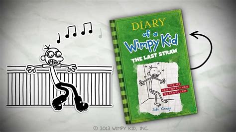 Diary of a Wimpy Kid: The Last Straw by Jeff Kinney - YouTube