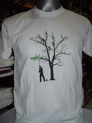 Short-sleeved cotton t-shirt - Painting the Tree - T