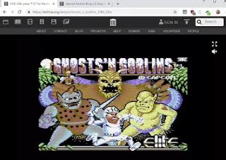 Play the games of the Commodore 64 free online on PC with