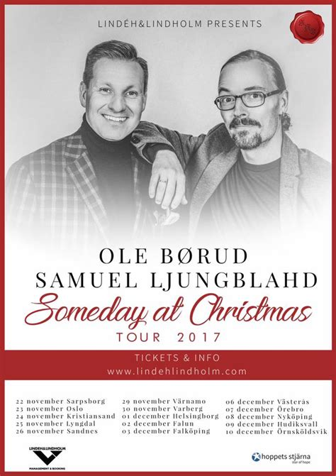 Ole Børud - Hope to see you on Someday At Christmas Tour