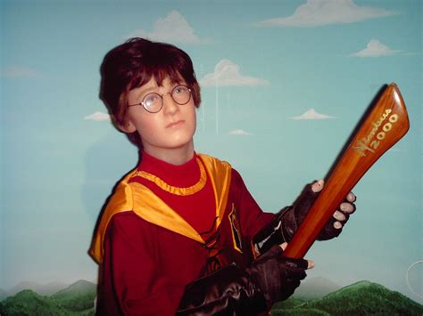 Harry Potter (Wax Museum) | This was at the creepy