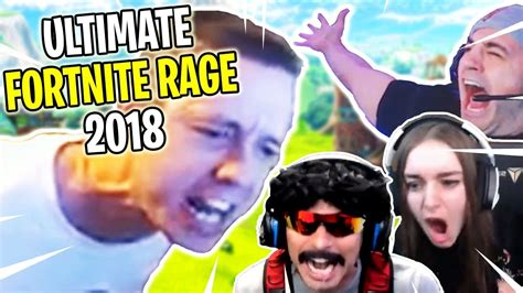 ULTIMATE Fortnite RAGES of 2018 Compilation! - YouTube