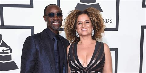 Don Cheadle Brings Partner Bridgid Coulter to Grammys 2016
