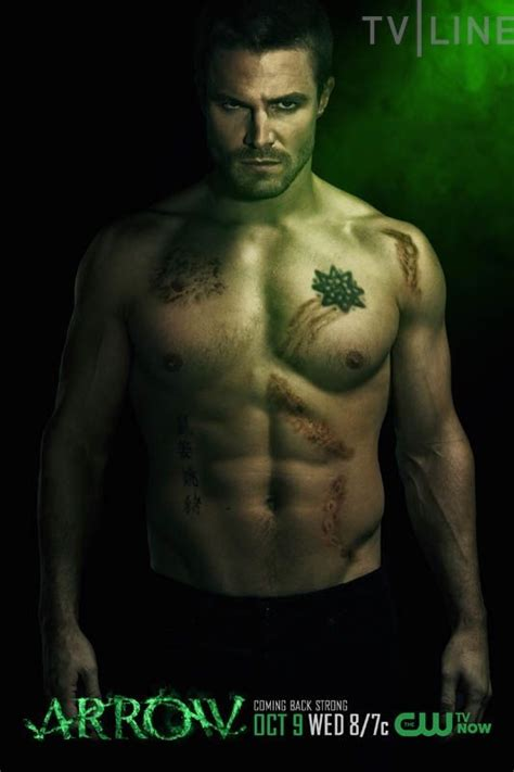 New Character Posters for Arrow Season 2 Debut