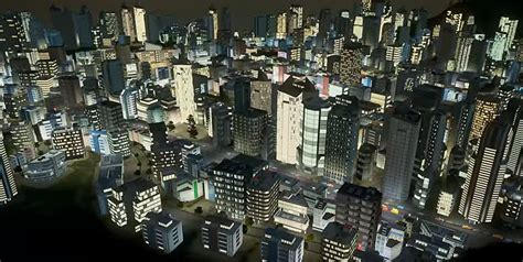 You can now revel in nighttime fun with Cities Skylines