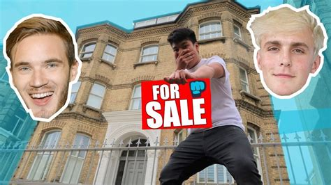 I PUT PewDiePie HOUSE UP FOR SALE   Jake Paul Inspired