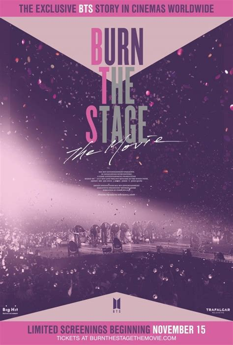 BTS' Feature Film 'Burn the Stage' Gets Release Date