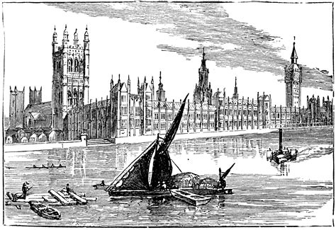 The New Houses of Parliament   ClipArt ETC