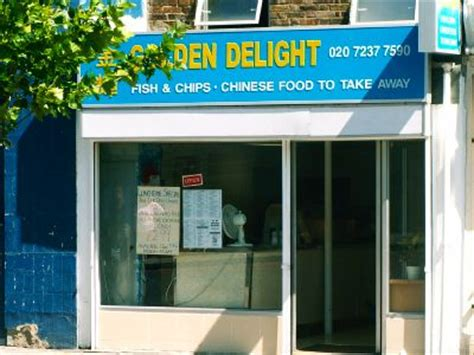 Golden Delight Chinese takeaway and fish & chips, Bermondsey