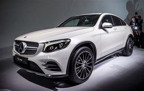 Fresh Metal! 2017 Mercedes-Benz GLC Coupe is New Fastback