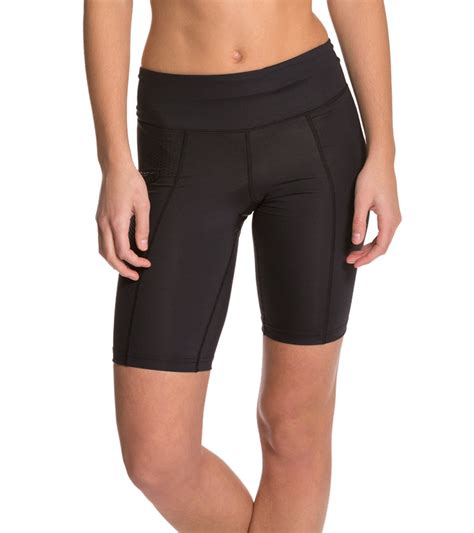 2XU Women's Mid Rise Compression Shorts at SwimOutlet
