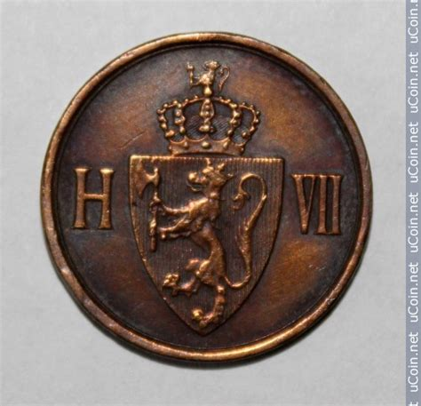 2 öre 1906-1907, Norway - Coin value - uCoin
